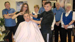 Neuer Barbierstuhl für das CJD Frechen