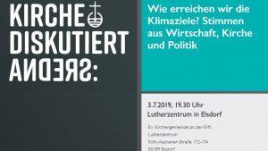 """Diskussionsreihe """"Energiewende und wir"""" – Letzter Abend der vierteiligen Diskussionsreihe: """"Stimmen aus Wirtschaft, Kirche und Politik"""""""