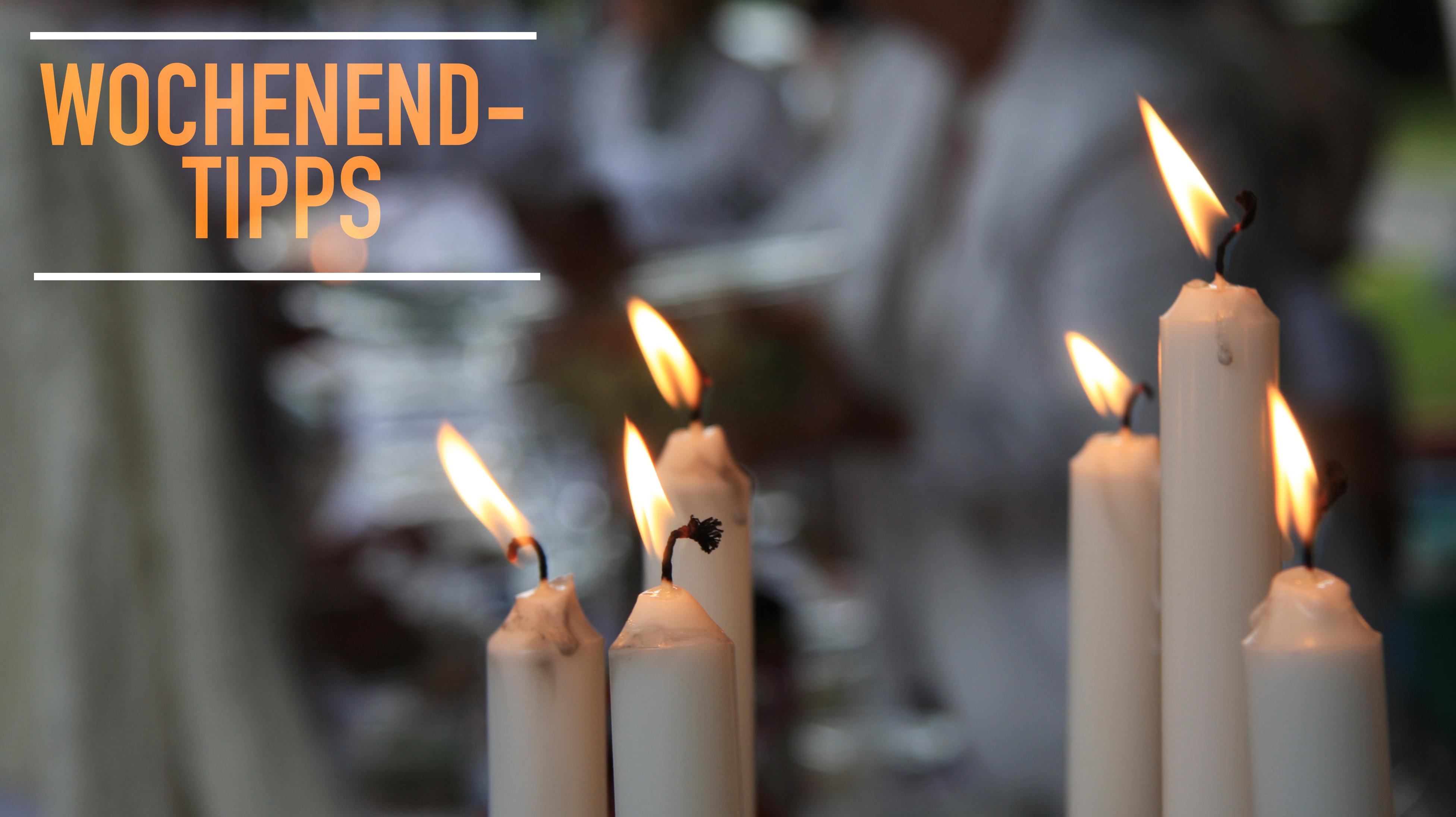 """Wochenendtipps: Tauferinnerungsgottesdienst, Orgelvesper, Ökumenischer Gedenkgang, """"Dinner in White"""", Kinderbibeltag und geistliche Chormusik"""
