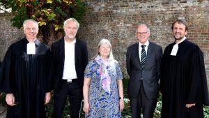 Das Pfarramt für Berufskollegs verabschiedete drei Kolleginnen und Kollegen