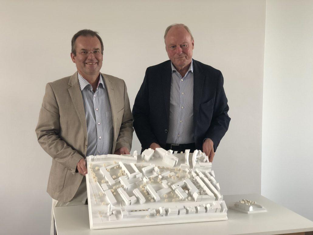 """""""Campus Kartause"""": Pläne für die Neubebauung des Geländes am Kartäuserwall vorgestellt"""