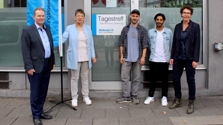 """Zum Tag der Wohnungslosen: Aktion """"Diakoniespende"""" für das Haus Salierring"""