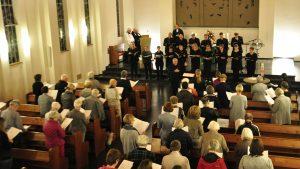 Eröffnung der Kirchenmusiktage – sie sangen, sie beteten, sie gingen