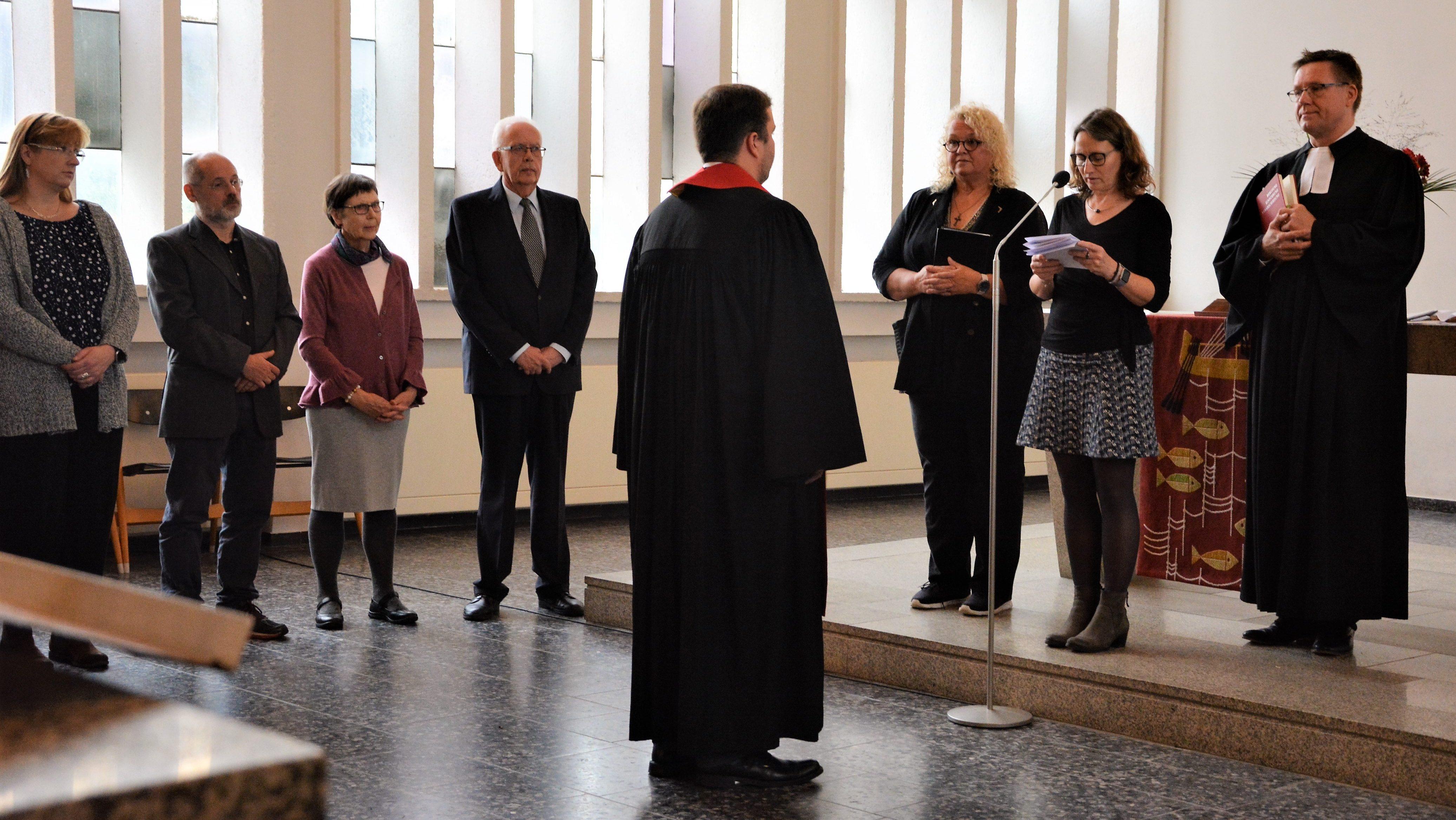 """""""Habe ich Dir nicht geboten, sei getrost und unverzagt"""" – Oliver Mahn als Pfarrer in der Zollstocker Melanchthon-Gemeinde eingeführt"""