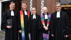 Festgottesdienst anlässlich der Einführung von Pfarrerin Bettina Kurbjeweit in die 2. Pfarrstelle