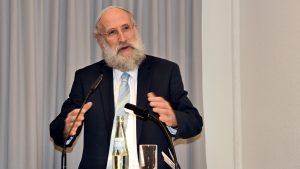 """""""Ich bin ein doppelter Apostel"""": Vortrag und Gespräch mit Rabbiner Yechiel Brukner von der Synagogen-Gemeinde Köln in der Melanchthon-Akademie"""