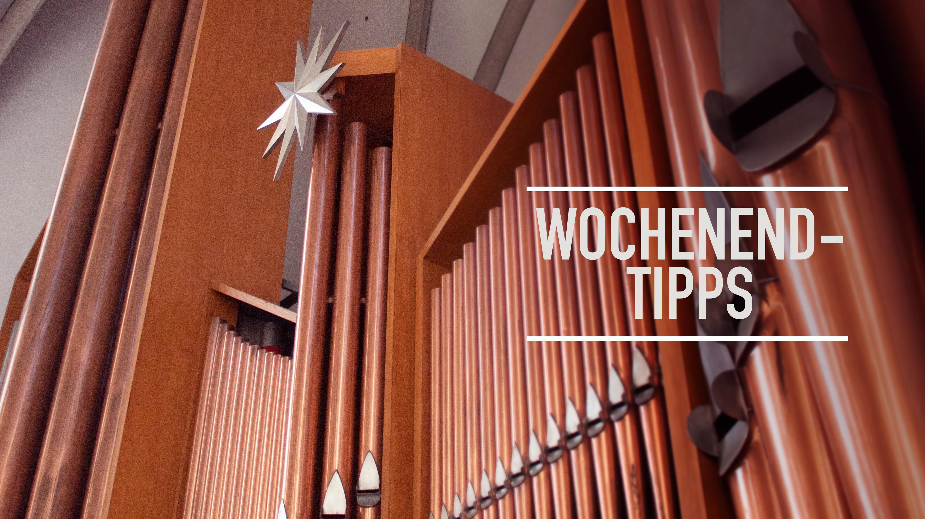 Wochenendtipps: Kabarett, Konzertante Orgelimprovisationen, Musik aus England, Sonaten für Violine und Klavier, Literaturforum