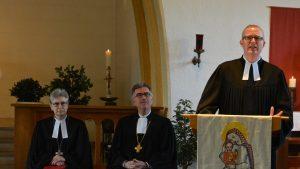"""""""Es ist ein Privileg, hier arbeiten zu dürfen"""" – Neuer Militärpfarrer Martin Söffing in der Christophorus-Kapelle auf dem Gelände der Lüttich-Kaserne in sein Amt eingeführt"""