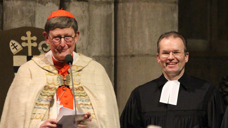 Segen für Karnevalisten – ökumenischer Gottesdienst im Dom mit Kardinal Woelki und Stadtsuperintendent Seiger