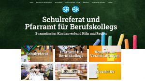 """""""Für das Fach Religion und für die Menschen"""" – Neue Homepage des Schulreferates und des Pfarramtes für Berufskollegs"""