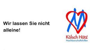 Stadt Köln bittet um Nachbarschaftshilfe – Wir sind dabei!