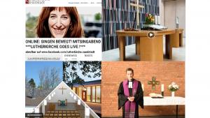 Mehr als zehn Online-Gottesdienste und Live-Veranstaltungen am Sonntag aus den Gemeinden in Köln und Region im Internet
