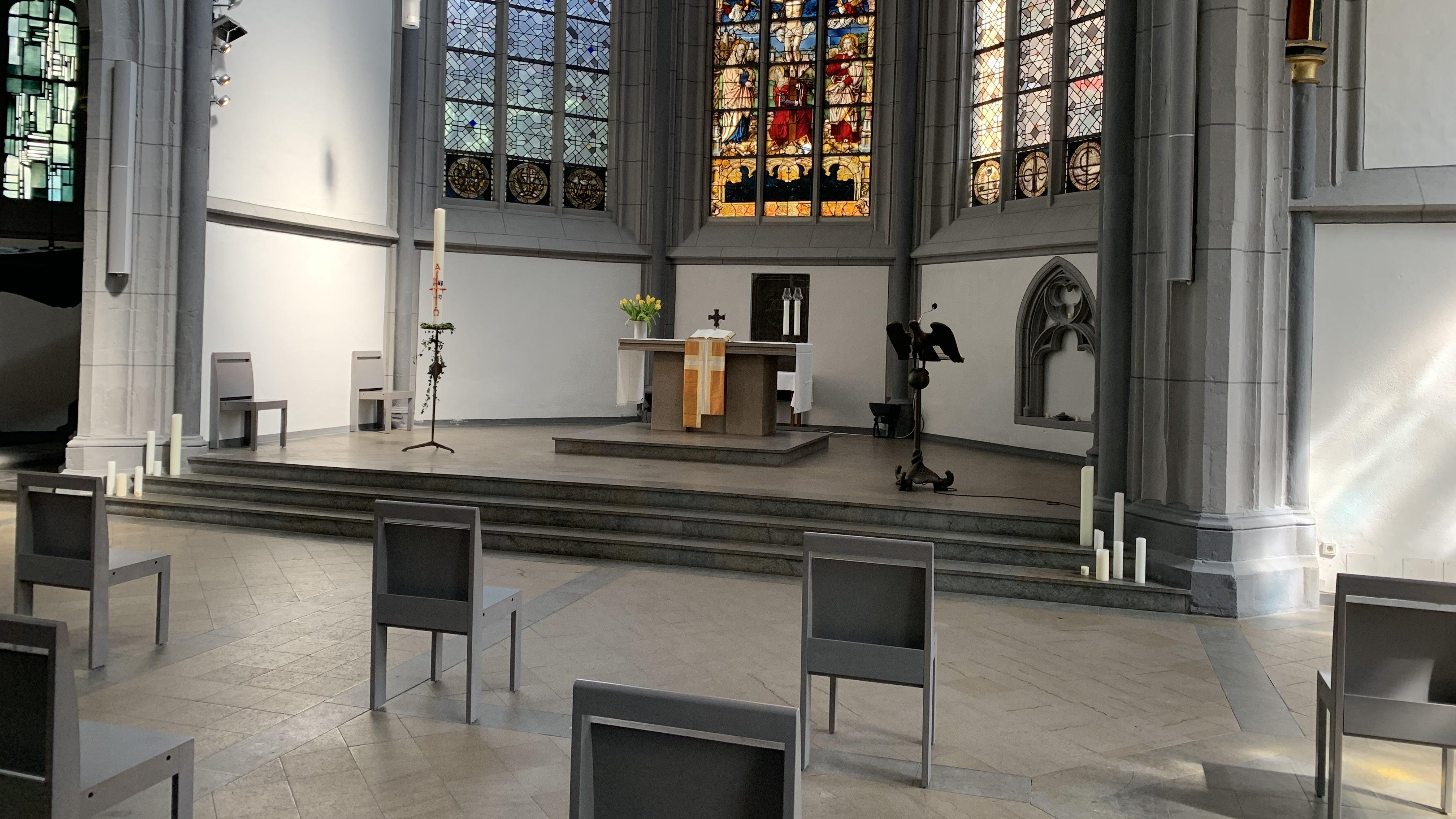 Antoniterkirche in der Kölner Innenstadt startet am 3. Mai wieder mit Gottesdiensten – Anmeldung erforderlich
