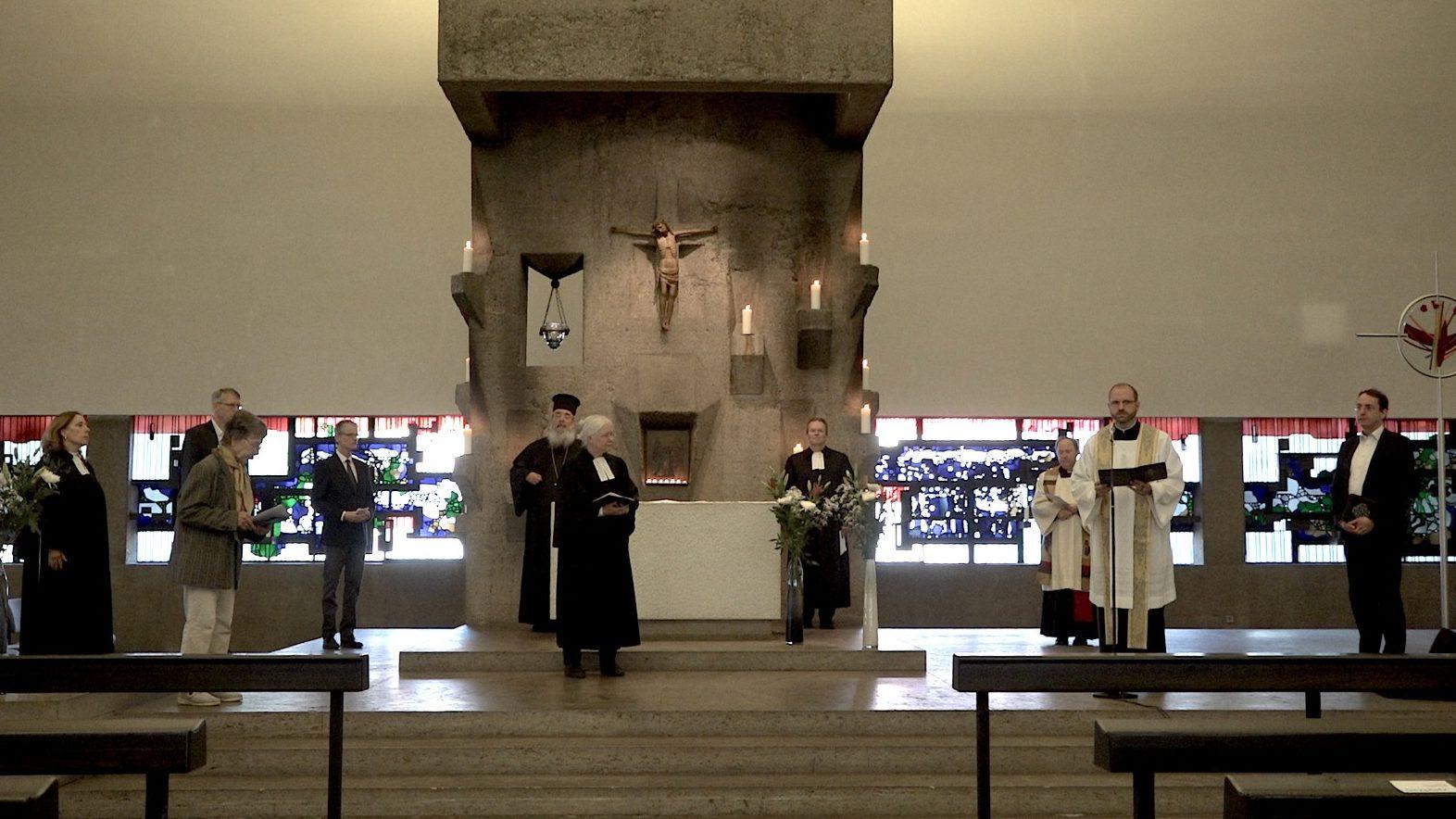 """""""Die Opfer nicht vergessen"""" – Gedenkgottesdienst der Arbeitsgemeinschaft Christlicher Kirchen in Köln am 8. Mai zum Kriegsende vor 75 Jahren"""