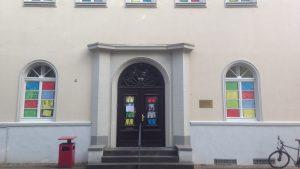 """Mitmachaktion """"Buntes Gemeindehaus"""" – Eine Aktion des Evangelischen Kinder- und Jugendbüros an der Lukaskirche"""