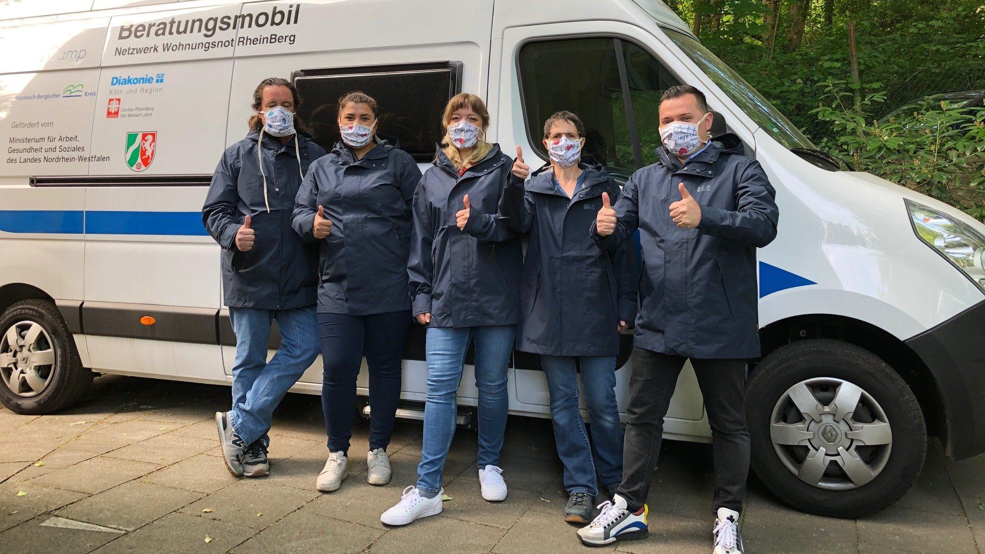 Großzügige Sach- und Geldspenden zur Unterstützung der Arbeit der Diakonisches Werk Köln und Region gGmbH