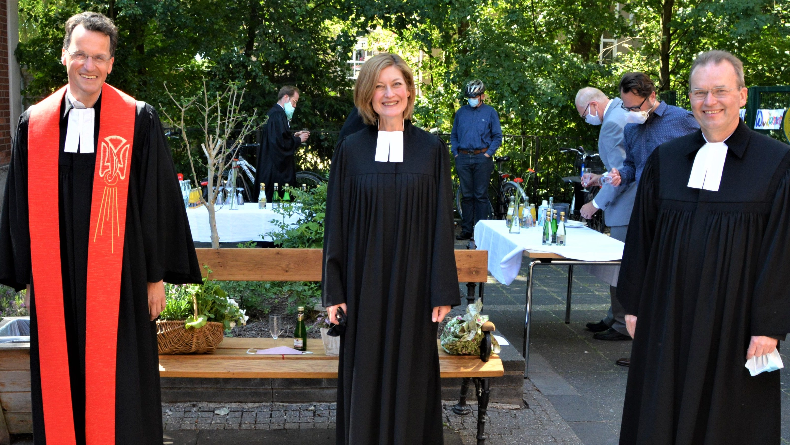 Premiere in der Philippuskirche – Ordination von Nicola Thomas-Landgrebe in Corona-Zeiten