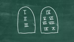 Kirche2go: Was sind die zehn Gebote?