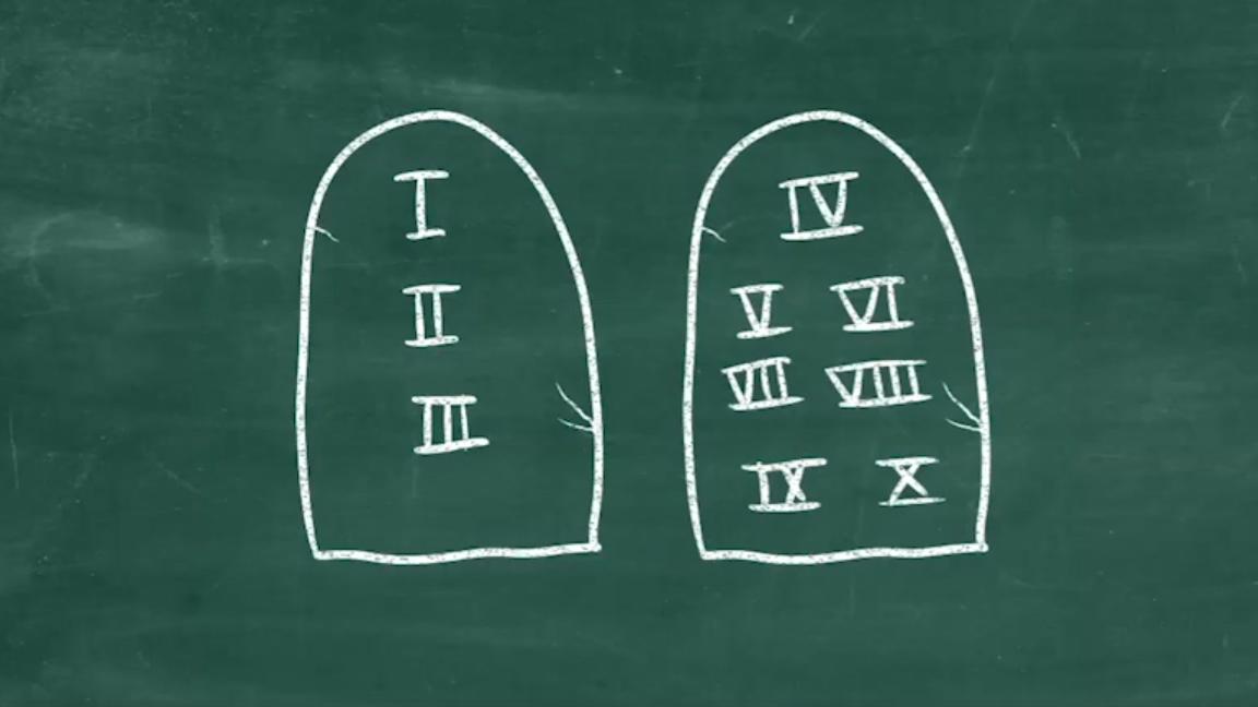 Kirche2go fragt: Was sind die zehn Gebote?