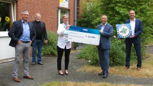 Spende von 10.000 Euro – Deutscher Arbeitsschutzpreis von RWE Power AG an das CJD Frechen