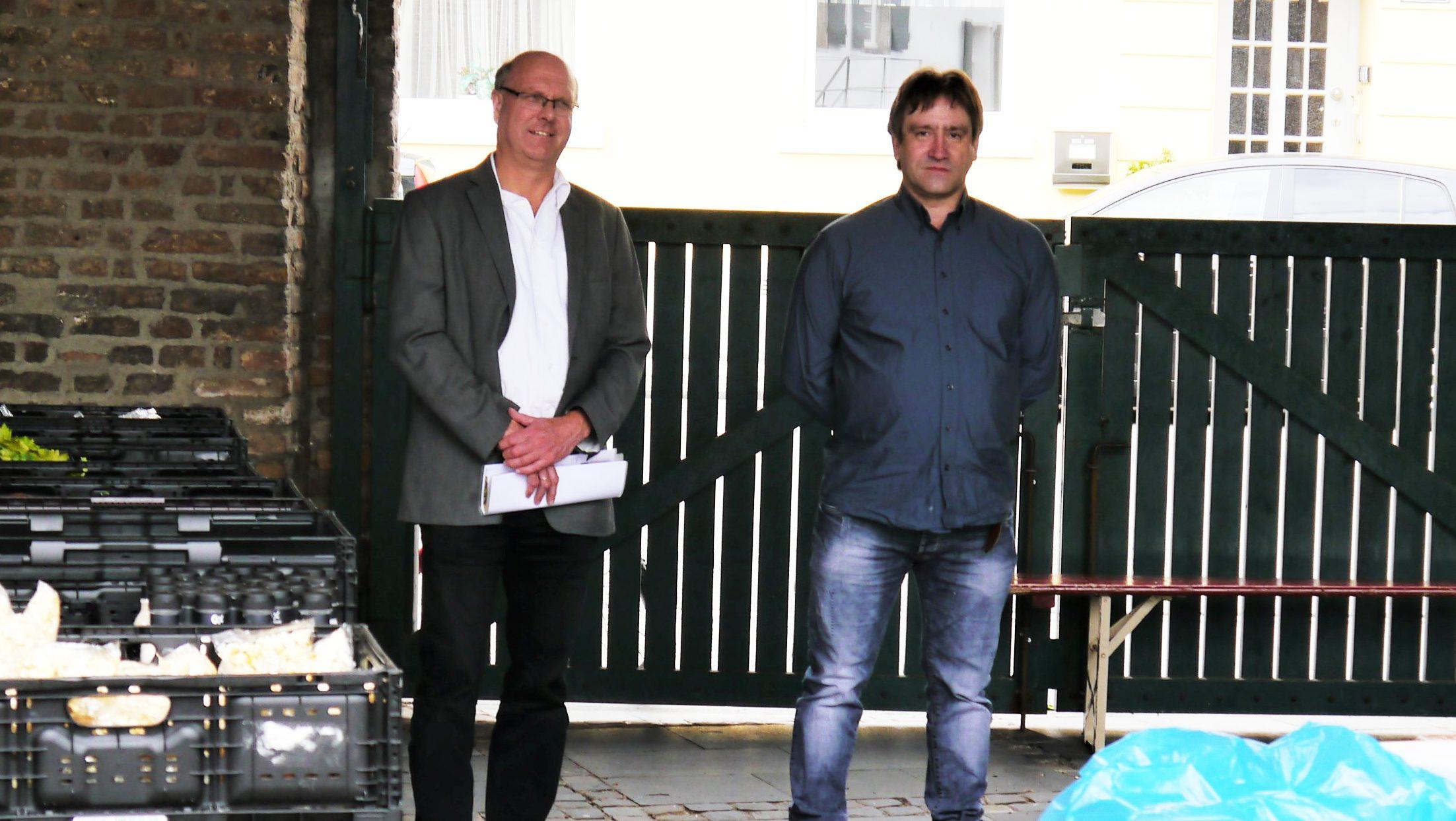 ASG unterstützt LebensmittelRetter im Worringer Fronhof
