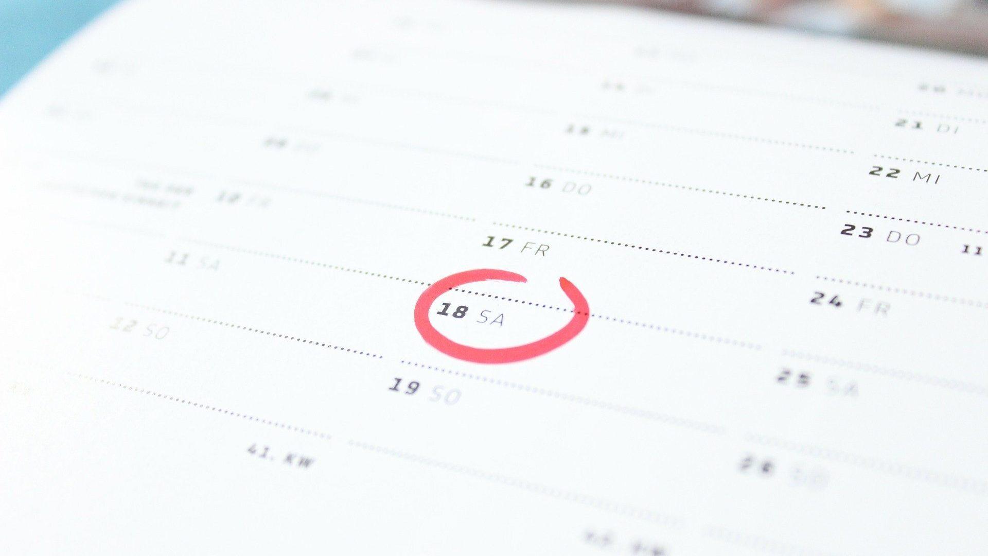 Gottesdienste und Veranstaltungen der nächsten Tage