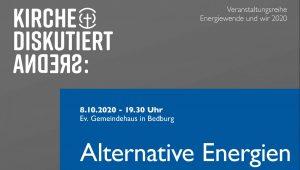 """HEUTE ABEND LIVE in Bedburg und auf Facebook: """"Alternative Energien – Wie geht regionale Energieerzeugung?"""""""