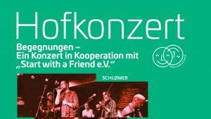 """Begegnungen – ein Konzert in Kooperation mit """"Start with a Friend e.V."""""""