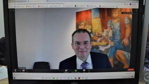 """""""Wir dürfen uns nicht dauerhaft in dieses Schneckenhaus Home-Office zurückziehen"""" – Erste Online-Synode des  Ev. Kirchenkreises Köln-Süd"""