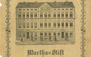 Erinnerung an das Martha-Stift – Archivale des Monats November 2020