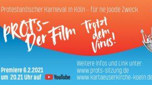 Kölner Protestanten feiern Karneval online