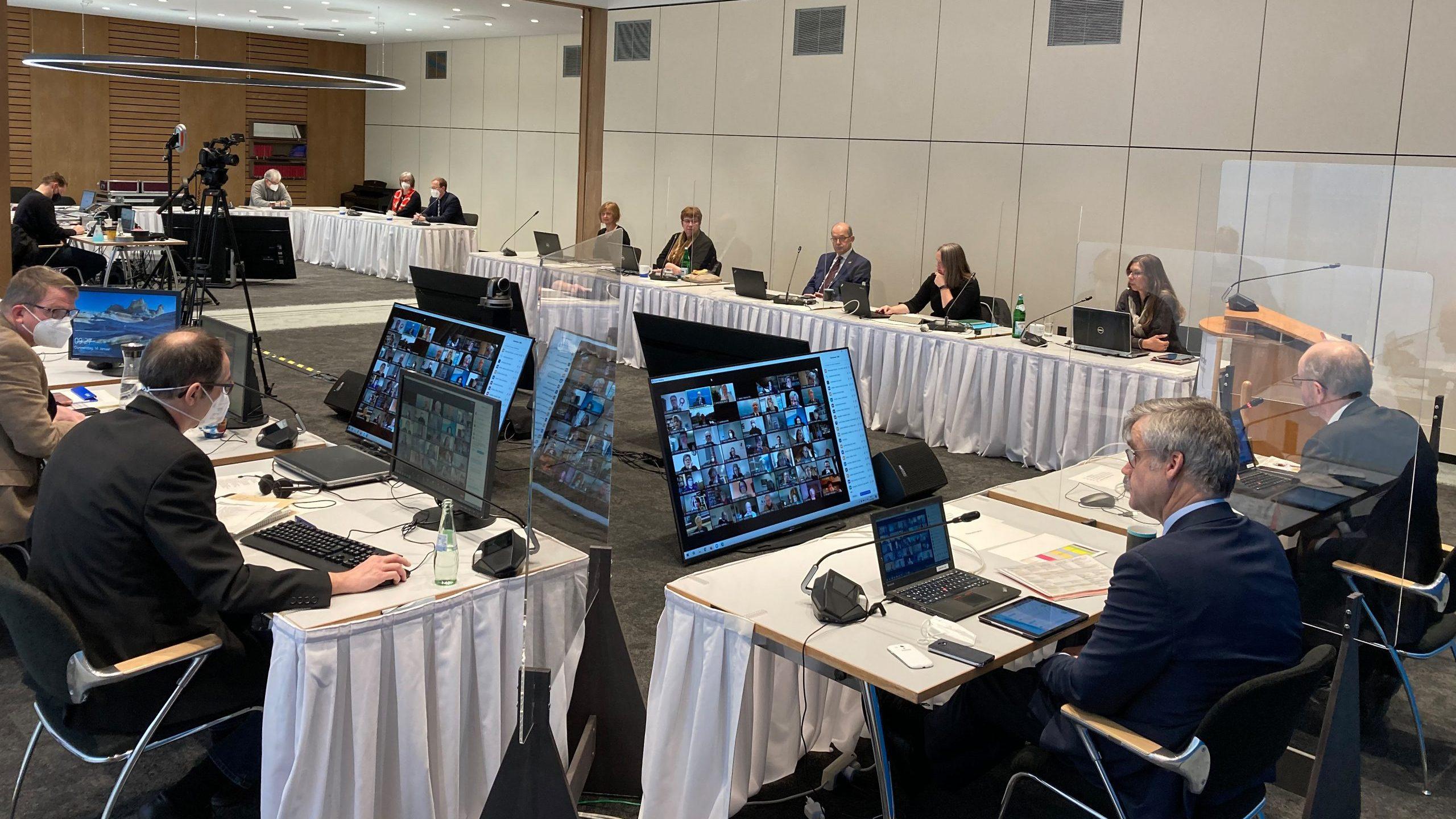Sitzungsmarathon in digitaler Form – Die Landessynode der EKiR 2021
