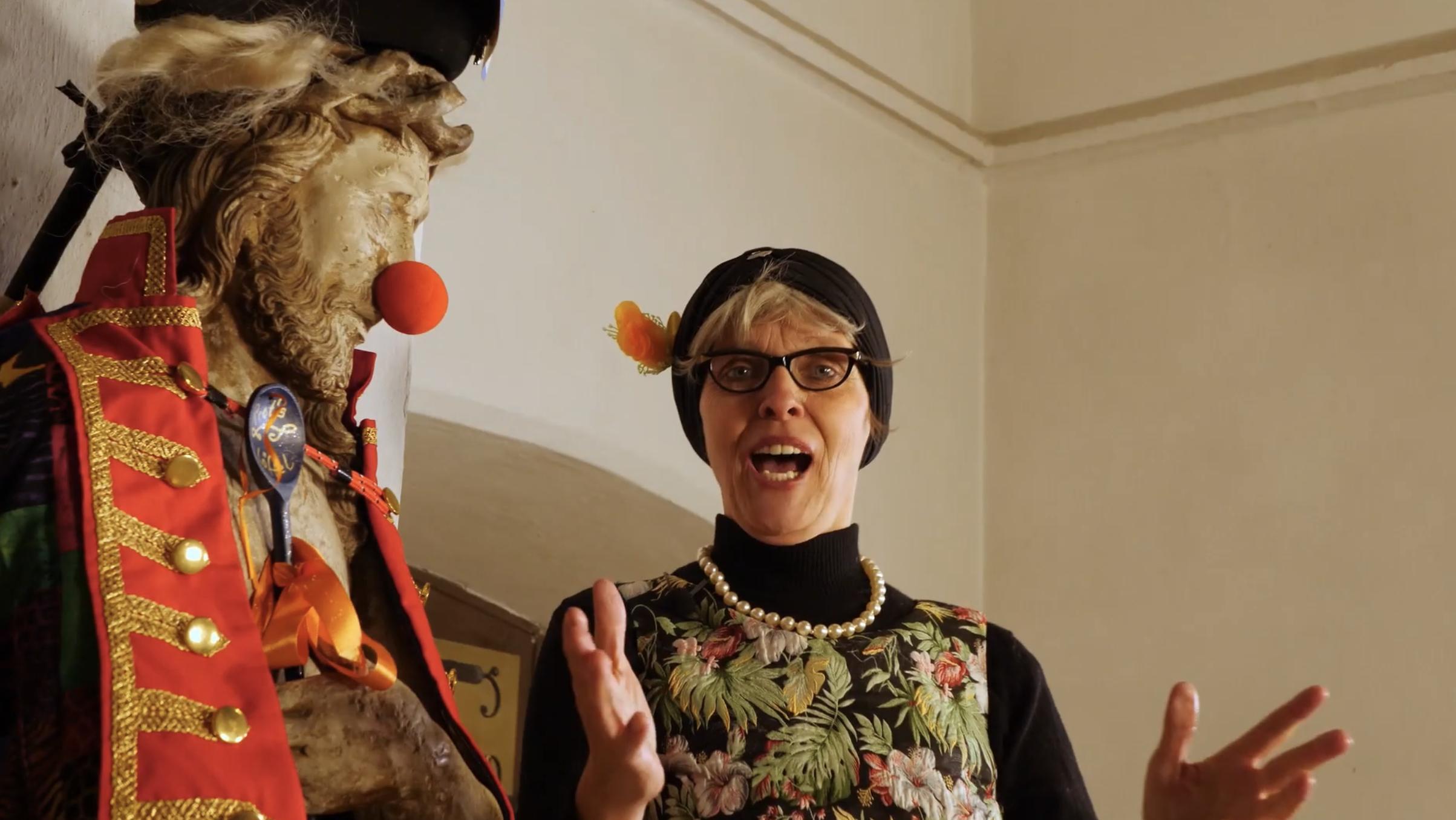 Mit PROT's – Der Film winken die Blauköppe ihrem Publikum virtuell zu