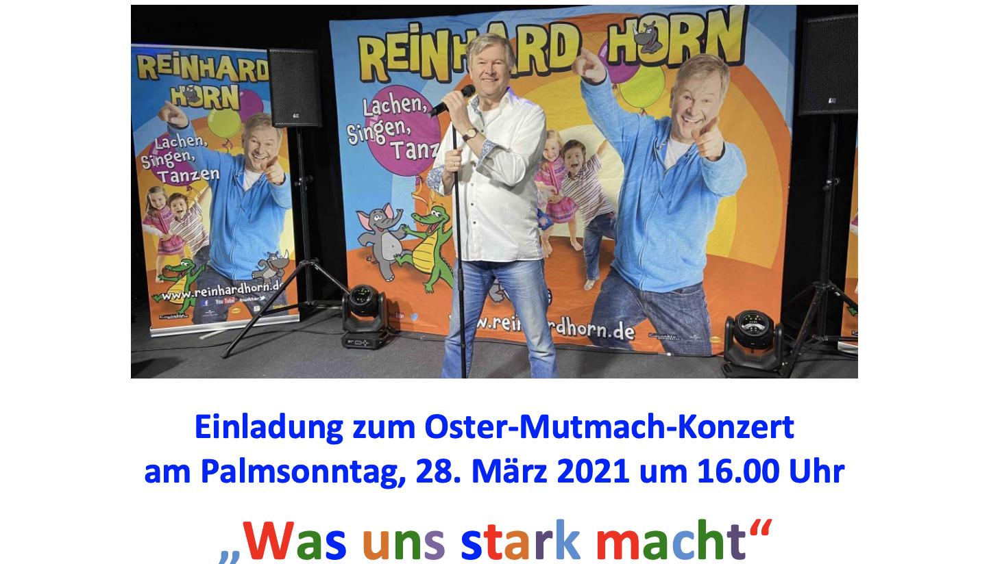 """""""Was uns stark macht"""" – Online-Konzert für Kinder am Palmsonntag"""