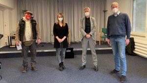 """Veranstaltung """"WiederSprechen"""": Mehr als 50 Gäste diskutieren mit Experten"""
