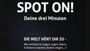"""Drei Minuten lang zur Welt sprechen – Die Evangelische Jugend in Köln und Umgebung lädt zur Aktion """"Spot on"""" ein"""
