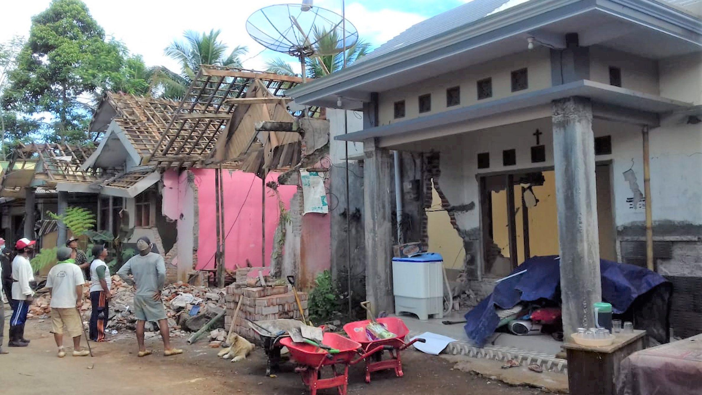 Soforthilfe für Partnerkirche nach Erdbeben in Indonesien
