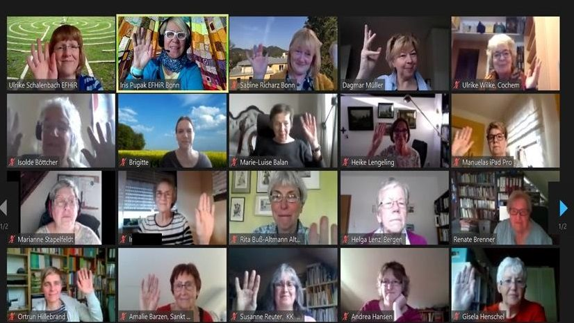 """""""Offenheit und guter Austausch"""": Digitale Frauenkonferenz der Evangelischen Frauenhilfe"""