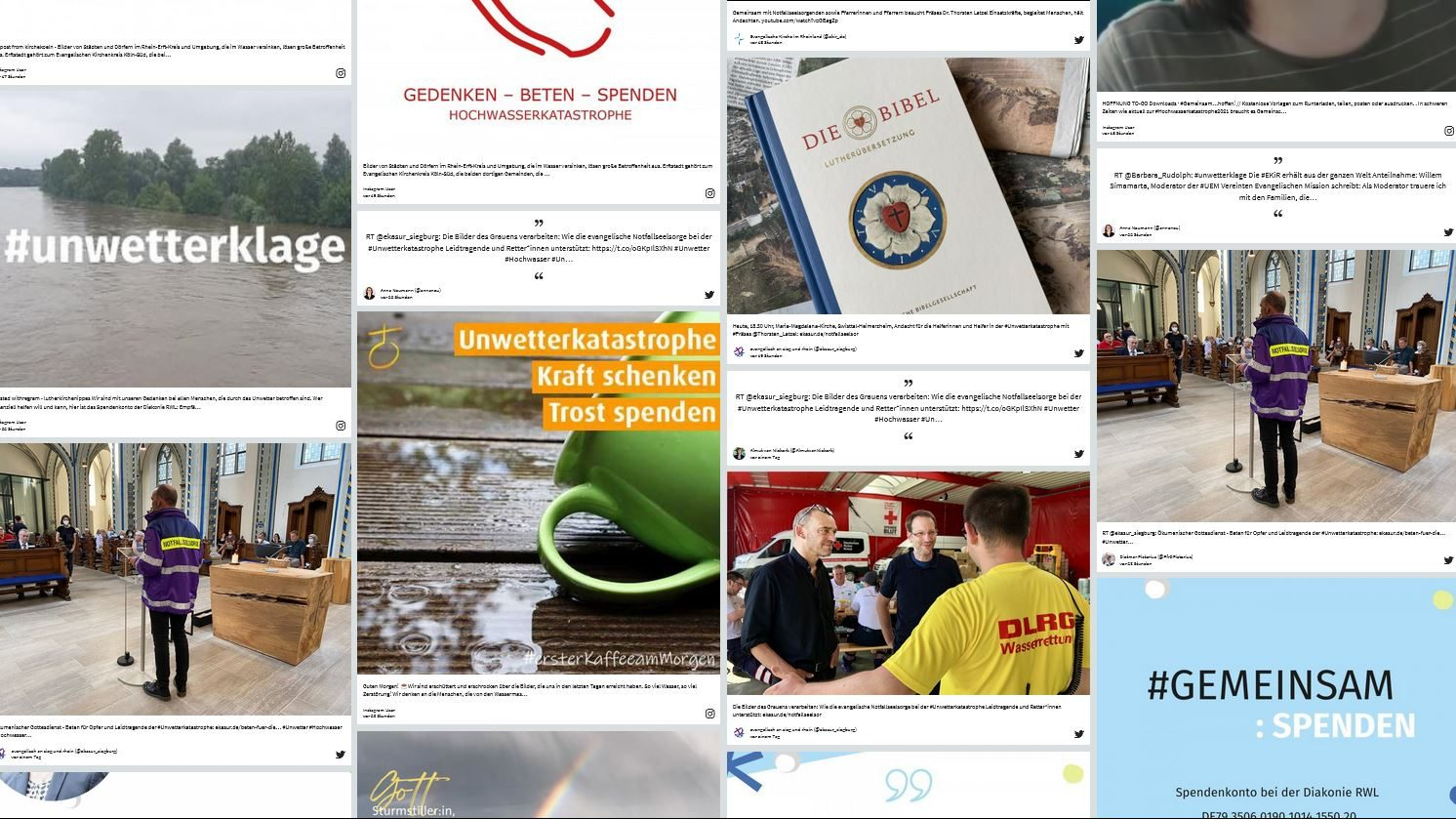 Hochwasserkatastrophe: Digitaler Klageraum #unwetterklage
