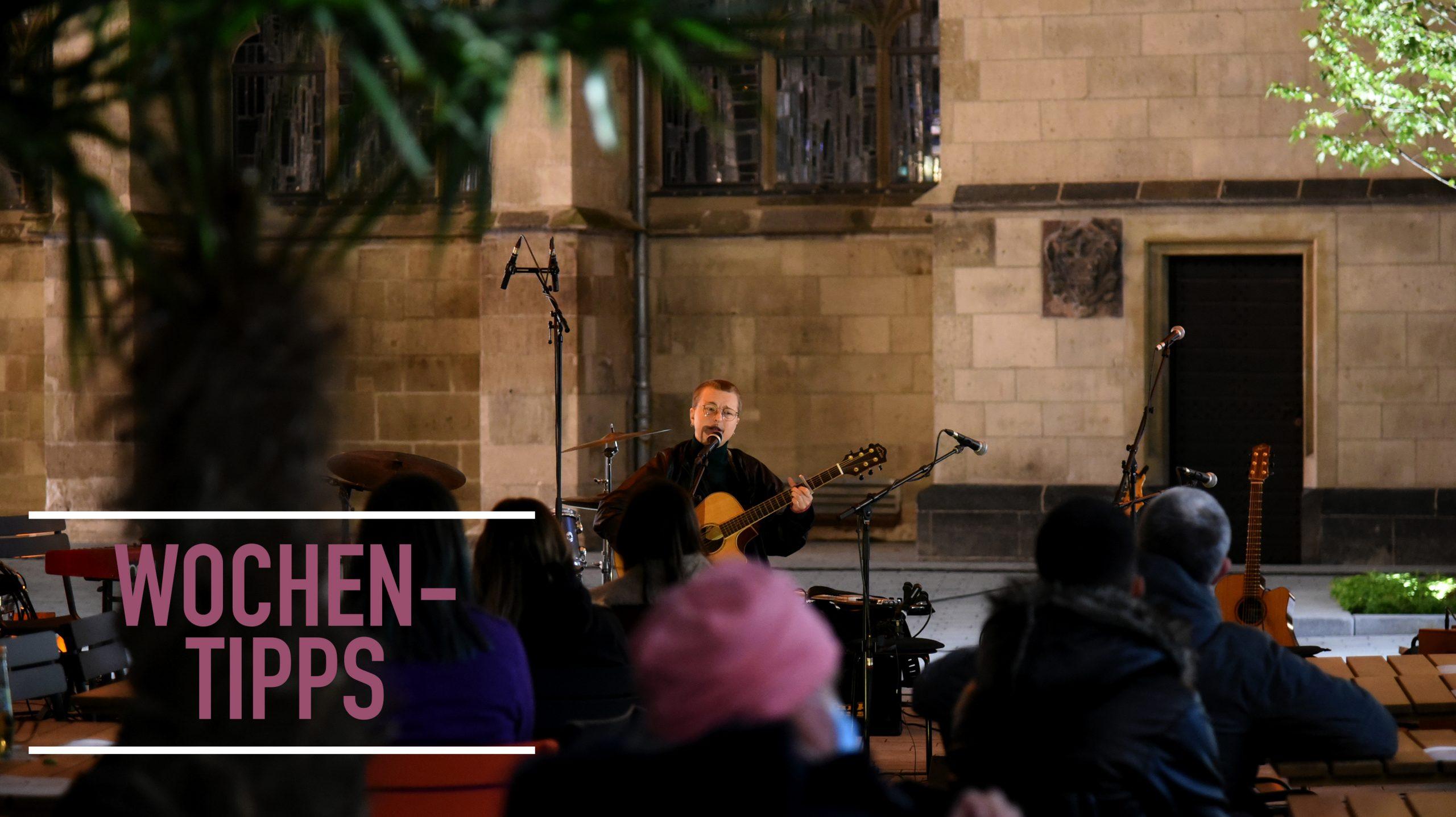 """Wochentipps: """"Kirchenbuffet"""", Orgelfestival, Open-Air und Hofkonzert"""
