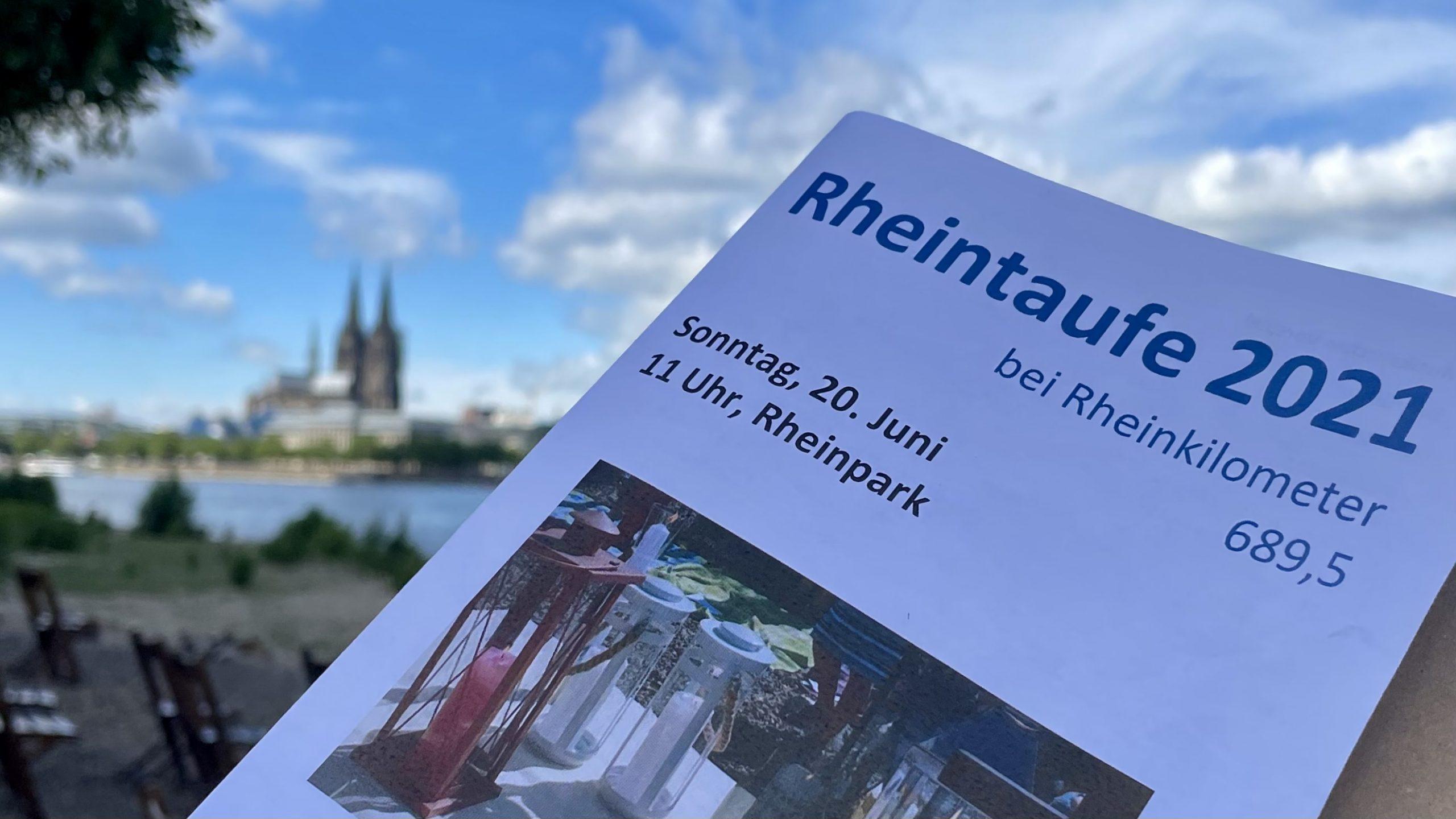 2016 – 2021: Fünf Jahre Rheintaufe der Kartäuserkirche am Stromkilometer 689,5