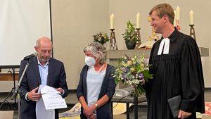 """""""Ich verabschiede mich voller Dankbarkeit"""" – Abschiedsfest für Gisela Stumpf als Leiterin des Evangelischen Familienzentrums"""