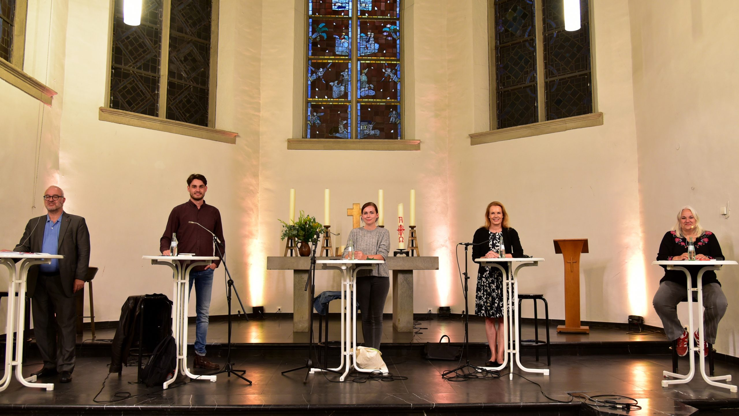 """Wahlkreisgespräch zum Thema """"Klima – Wie geht es nach der Bundestagswahl weiter?"""" in der Kartäuserkirche"""