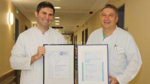 Zweifache Auszeichnung für Oberarzt Dr. med. Elvin Piriyev